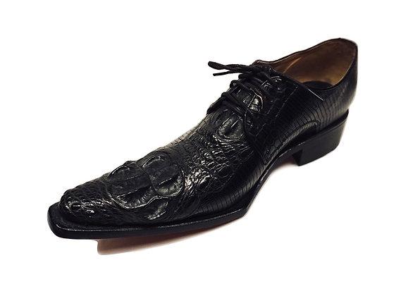 Crocodile Derby Shoe for Men