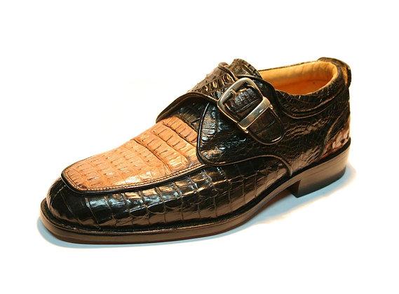 CrocodileMonk Strap Shoe for Men
