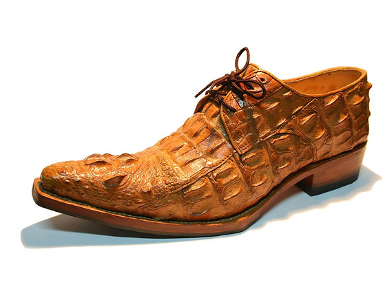 Crocodile Derby Shoe for Men