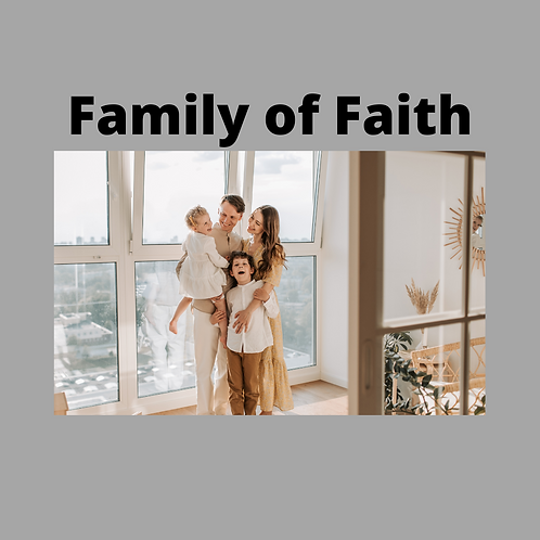 FOF Package 1 with No Sacraments (Parishioners)
