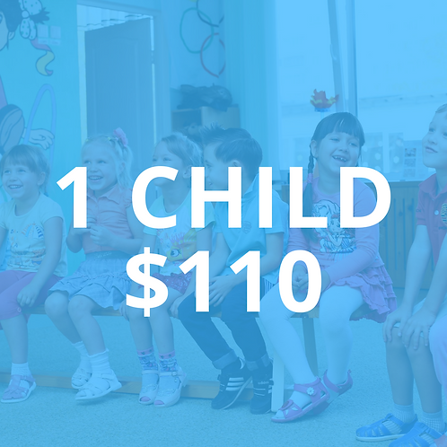 1 Child - PREP Registration (Includes Late Fee)