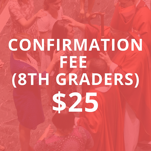 Confirmation Fee - PREP