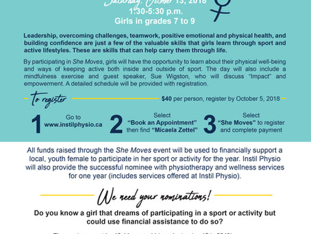 She Moves: Active Youth Empowerment Day