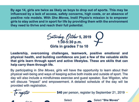 She Moves: Active Youth Empowerment Day 2019