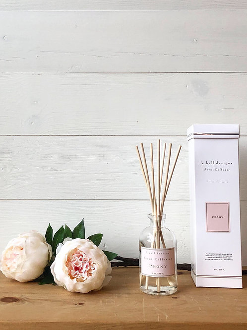 K. Hall Peony Scent Diffuser