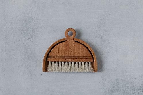 Handmade Iris Hantverk wooden brush set. Sold by Salt Creek Mercantile.