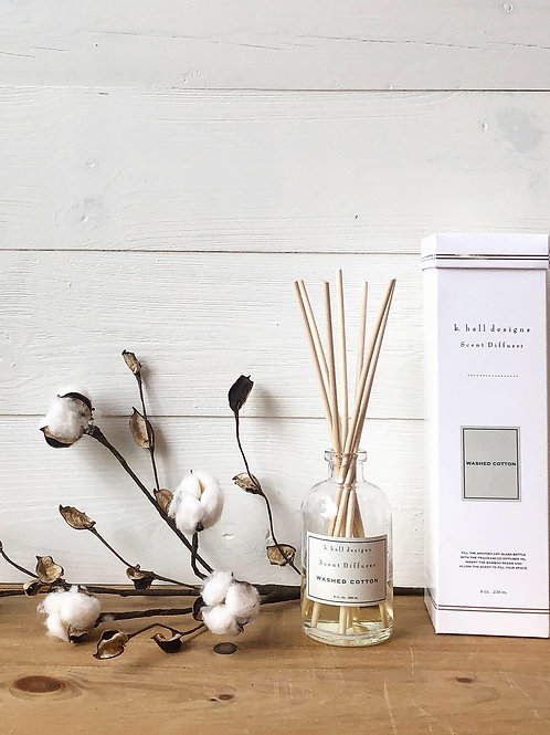 K. Hall Washed Cotton Scent Diffuser