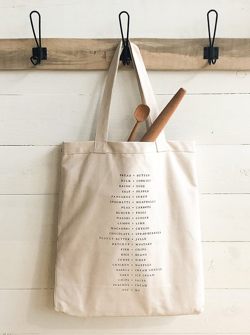 Pairings Picnic Tote Bag