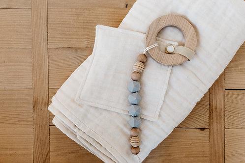 Handmade Organic Cotton Blanket Set