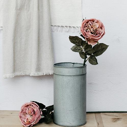 Silk English Cabbage Rose