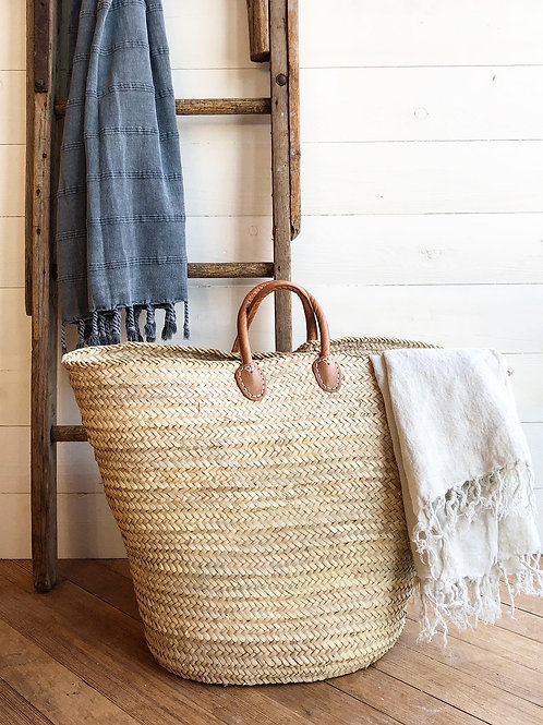 Large French Laundry/Market Tote