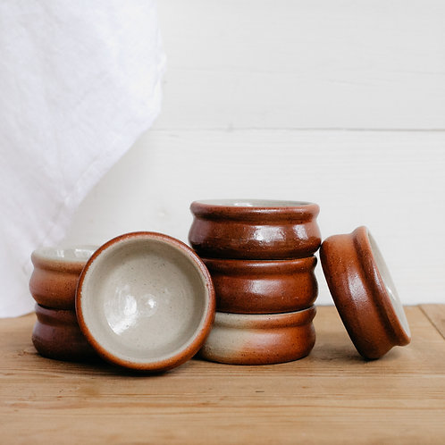 French Vintage Butter Pots