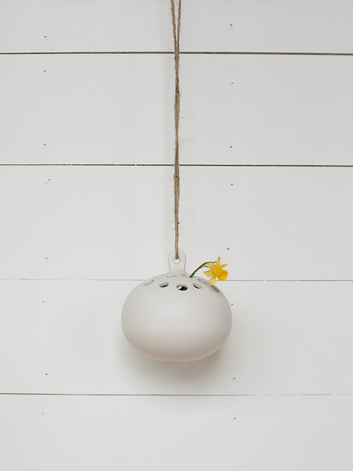 Hanging Flower Frog Vase