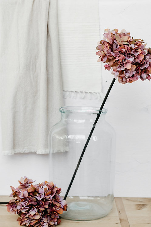 Oversized Silk Hydrangea Flower