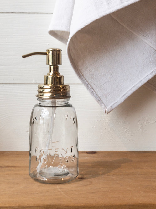 Mason Jar Soap Bottle
