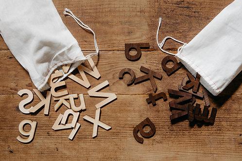 Gladfolk Wooden Alphabet Set