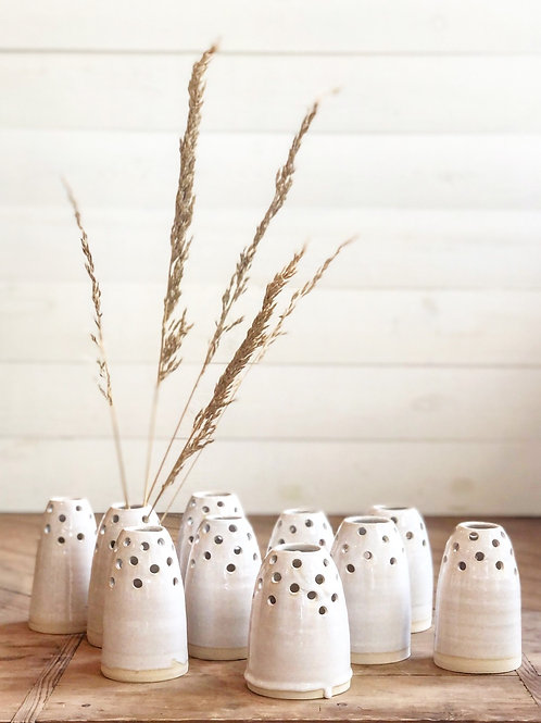 Stoneware Stem Vase