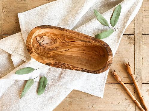 Rustic Olive Wood dish