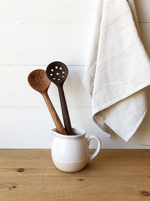 Handcarved Wooden Kitchen Spoons