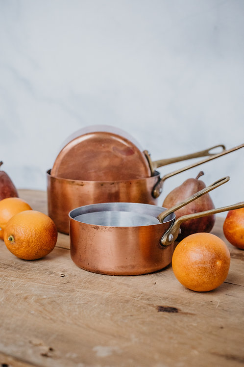 Vintage Copper Pot (Set #6)