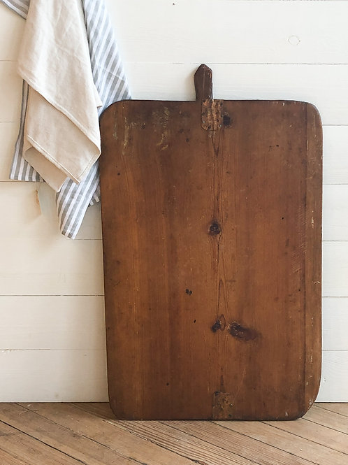 Large Vintage French Cutting Board #1