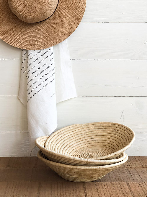 Handwoven Sweetgrass Bowl