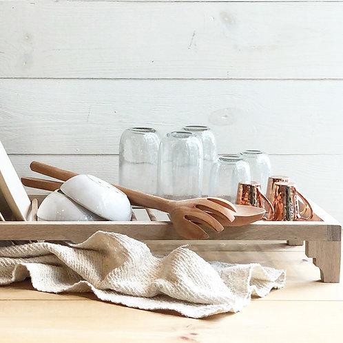 White Oak Dish Drying Rack