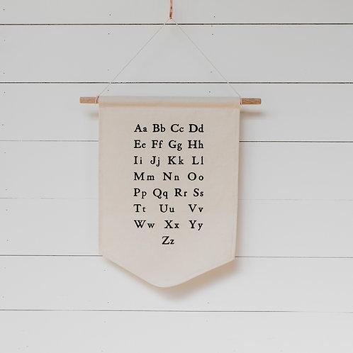 Gladfolk Alphabet Banner