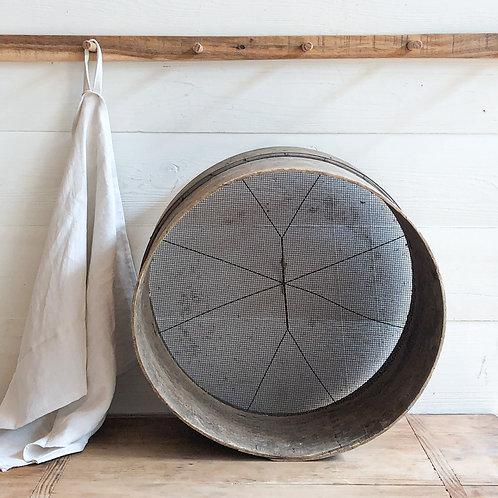 Vintage Wooden Sieve #4