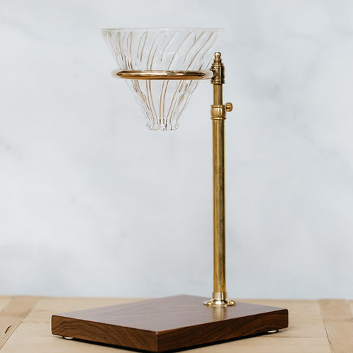 Walnut Pour-Over Stand