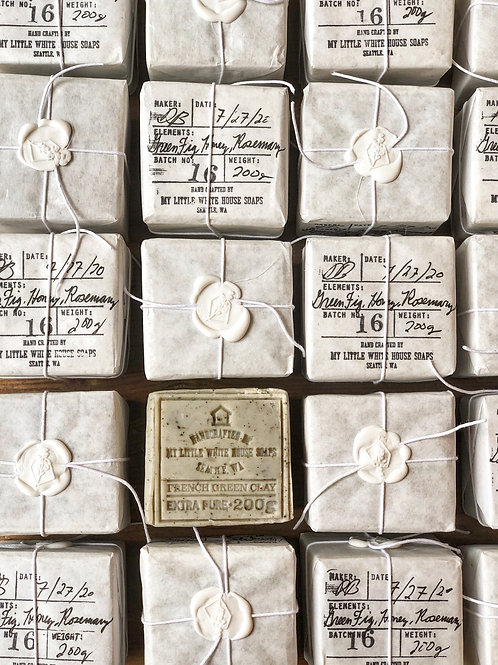 White House French Clay Soap
