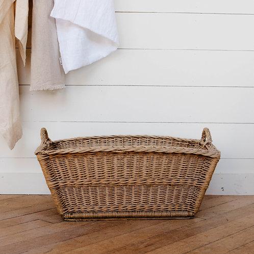Vintage European Willow Basket No. 5