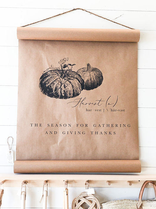 Harvest scroll