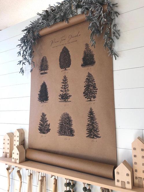 Pine Tree Scroll