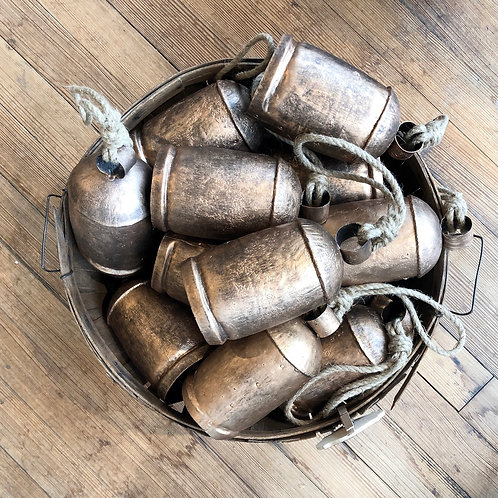 Aged Copper Bells