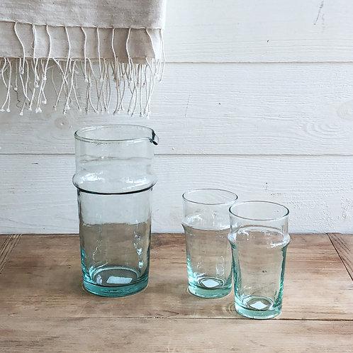 Beldi Glass Carafe