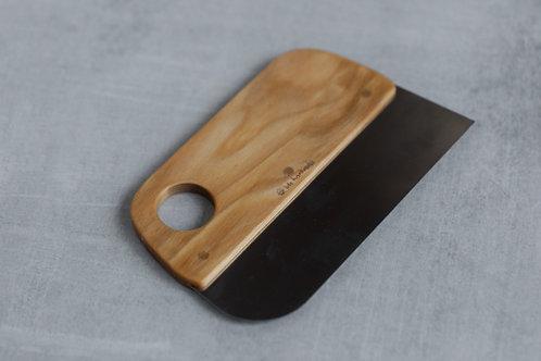 Handmade wooden dough scraper by Iris Hantverk. Sold by Salt Creek Mercantile.