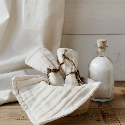 Handmade Organic Washcloth