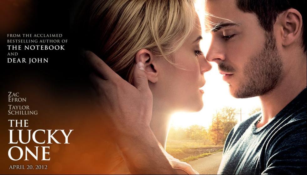 Filme Um Homem de Sorte do escritor de romances dramáticos, Nicholas Sparks