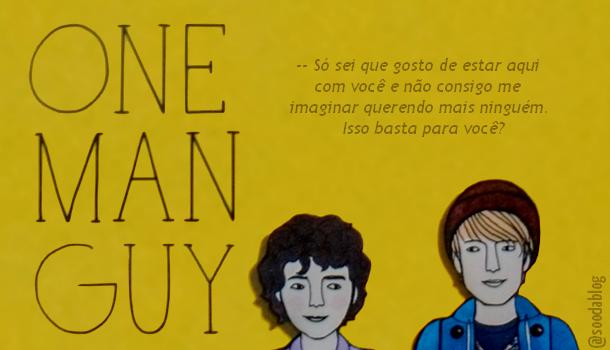 One Man Guy, livro LGBTQIA+