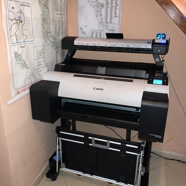 SCANNER-PLOTTER CANON imagePROGRAF TM-200 MFP L24ei