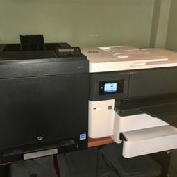 Dell 2150cdn Color Laser Printer - HP OfficeJet Pro 7440