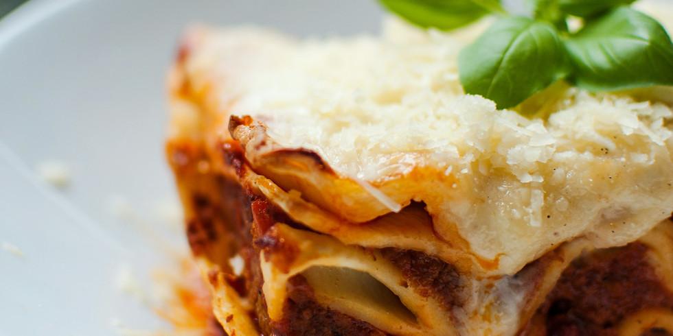 Drive-Thru Lasagna Dinner