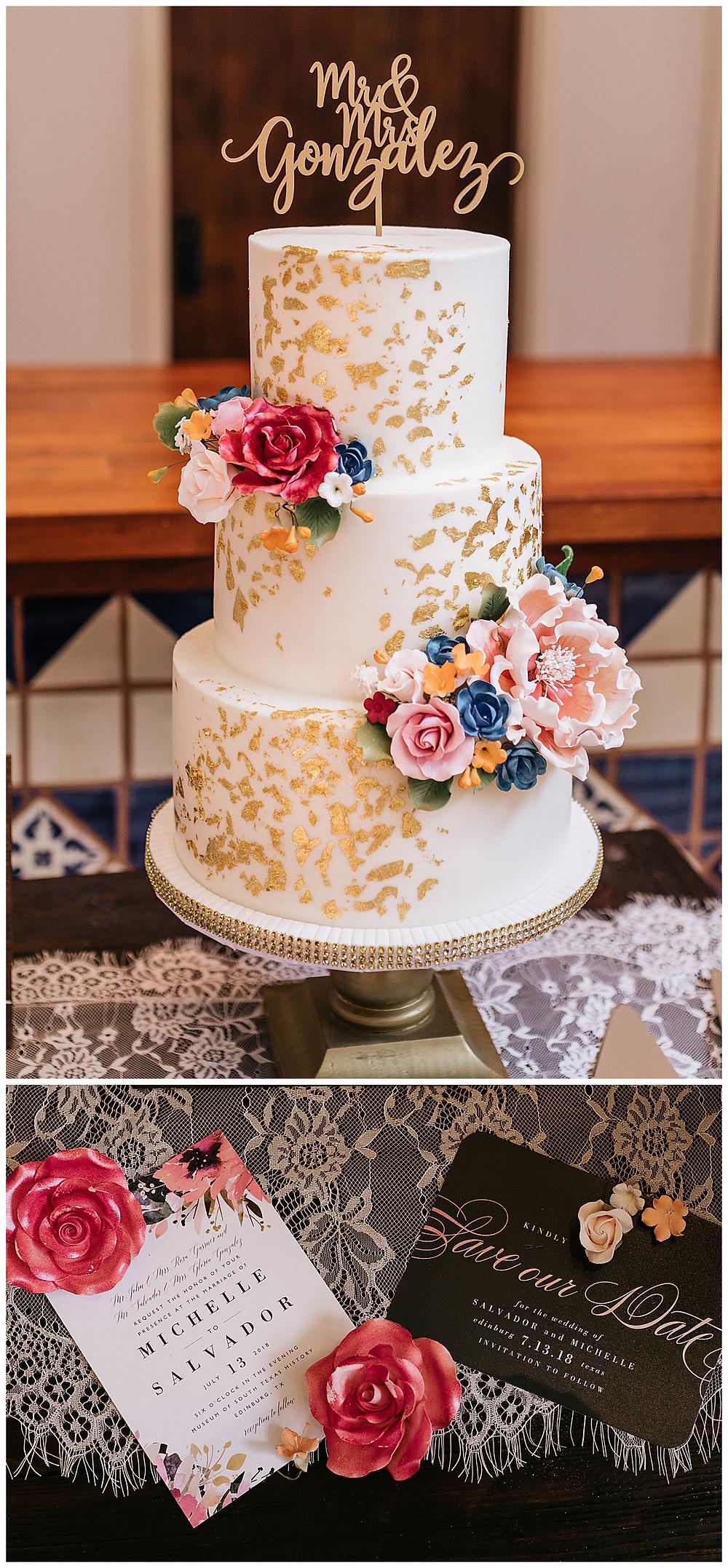 McAllen Wedding Cake