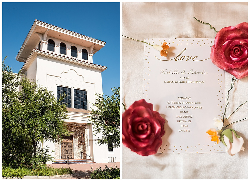 Museum of South Texas History Wedding