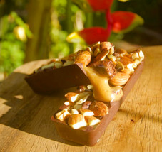 homemade raw snickers