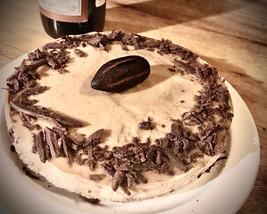 cardamon white chocolate vegan cake