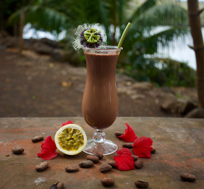 iced cacao drink