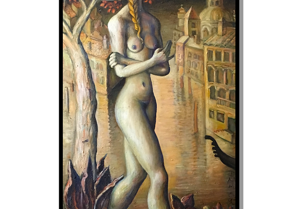 Girl & A Pear Tree