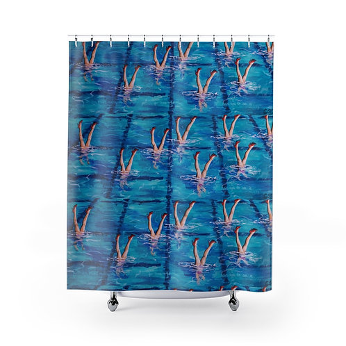 Synchronicity Shower Curtains